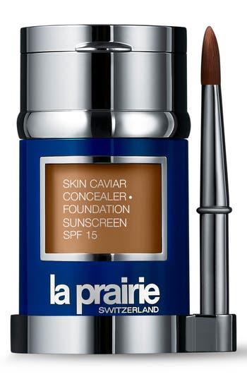 La Prairie Skin Caviar Concealer + Foundation Sunscreen Spf 15 - Satin Nude