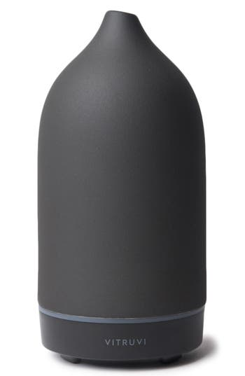 Vitruvi Porcelain Essential Oil Diffuser, Size One Size - Black