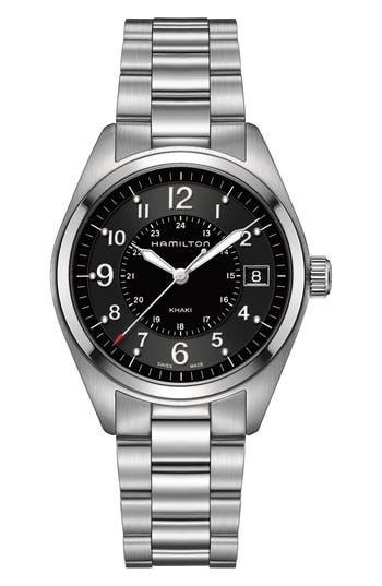 Hamilton Khaki Field Bracelet Watch, 40Mm