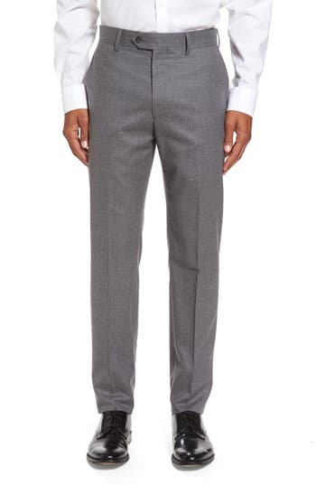 Men's Todd Snyder White Label Sutton Flat Front Stretch Wool Trousers
