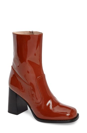 Marc Jacobs Ross Ankle Boot Red