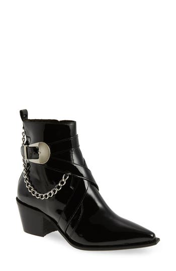 Topshop Move It Western Boot - Black