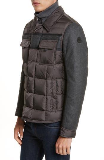Moncler Blais Down Jacket, Black
