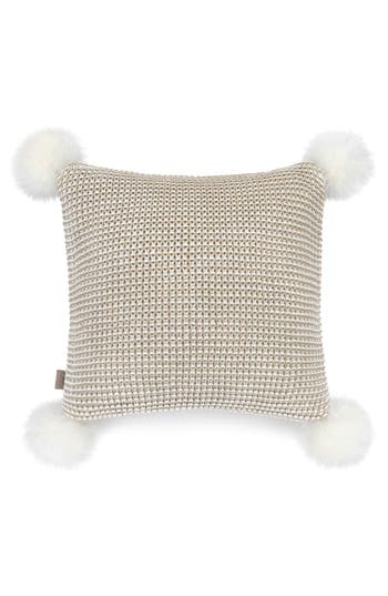 Ugg Snow Creek Genuine Shearling Pillow, Size One Size - Beige