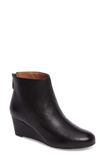 Gentle Souls Vicki Wedge Bootie, Black