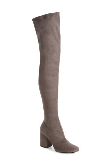 Marc Fisher Ltd Praye Over The Knee Boot, Grey