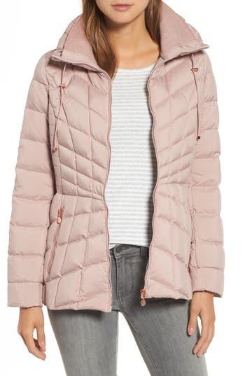 Women's Bernardo Packable Down & Primaloft Coat