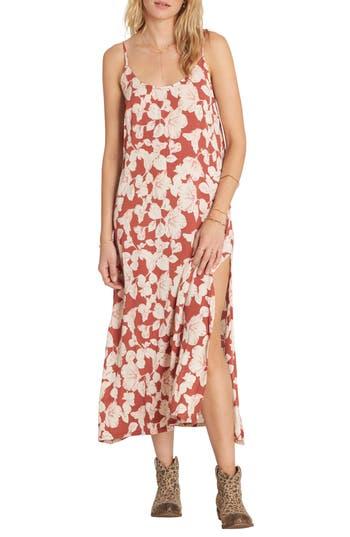 Women's Billabong Sol Slipdress, Size X-Small - Red