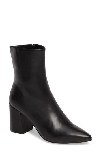 Linea Paolo Bobby Pointy Toe Boot- Black