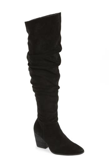 Charles By Charles David Noelle Over The Knee Boot, Black