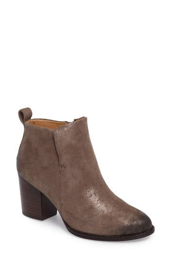 Sofft Ware Plain Toe Bootie, Grey