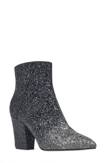 Nine West Savitra Pointy Toe Bootie, Blue