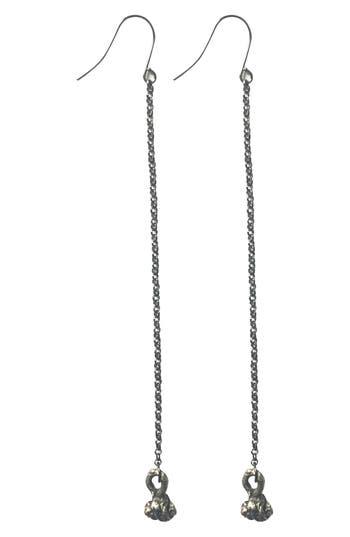 Women's Mhart Chain Drop Earrings