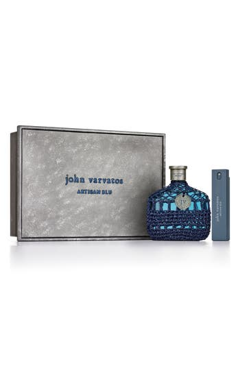 John Varvatos Artisan Blu Eau De Toilette Set ($119 Value)