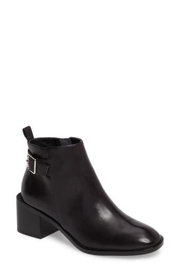 Linea Paolo Paige Block Heel Boot- Black