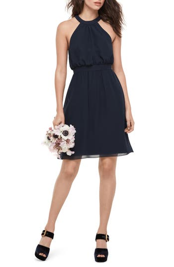Women's Wtoo Blouson Chiffon Dress