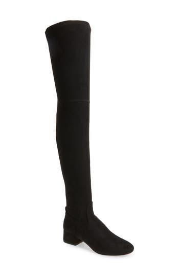 Dolce Vita Jimmy Thigh High Boot- Black