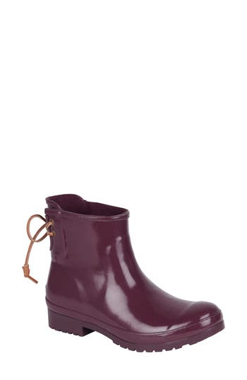 Sperry Walker Rain Boot, Burgundy