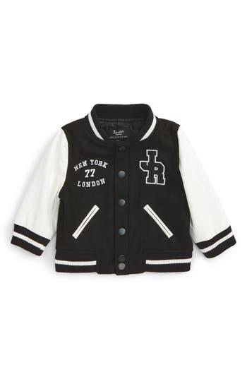 Toddler Boy's Bardot Junior Collegiate Bomber Jacket