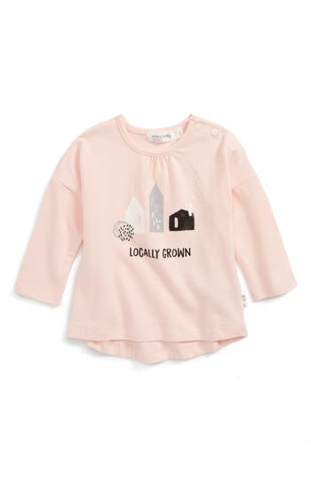 Infant Girl's Miles Baby Locally Grown Tee