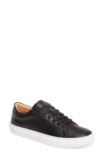 Greats ROYALE PERFORATED LOW TOP SNEAKER