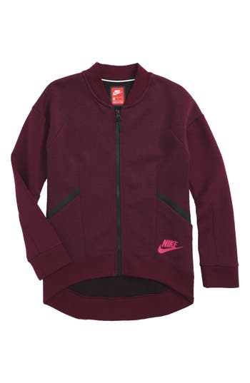 Girl's Nike Tech Fleece Zip Jacket