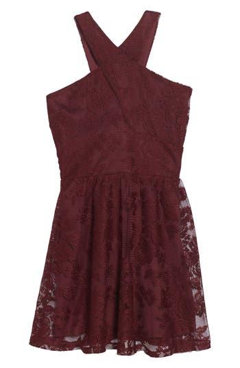 Girl's Penelope Tree Winona Lace Dress