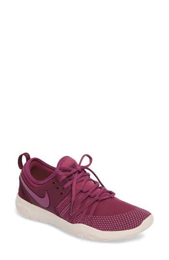Women's Nike Free Tr 7 Training Shoe, Size 6.5 M - Purple