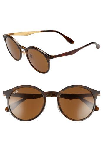 Unique Retro Vintage Style Sunglasses & Eyeglasses Womens Ray-Ban Solid 51Mm Round Sunglasses - $79.97 AT vintagedancer.com