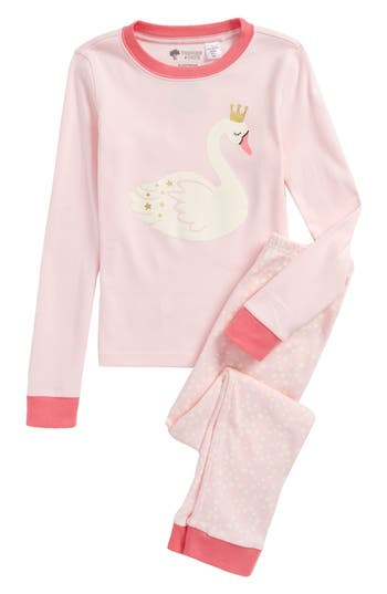 Girl's Tucker + Tate Fitted Two-Piece Pajamas