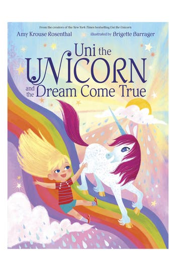 'Uni The Unicorn & The Dream Come True' Board Book, Size One Size - Pink