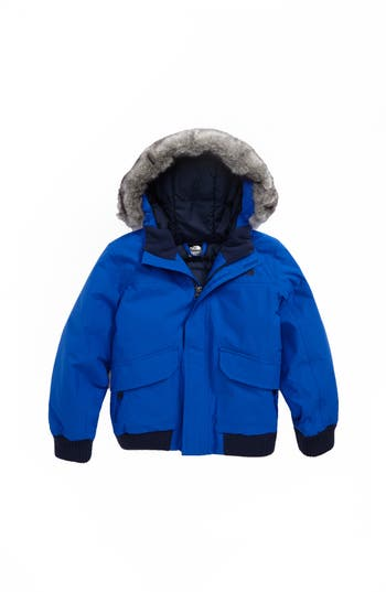 Boy's The North Face Gotham Hooded Waterproof 550-Fill Power Down Jacket