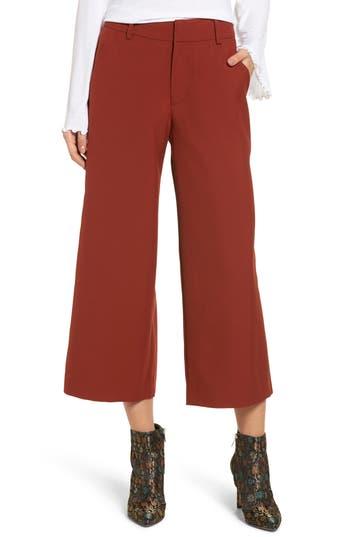 Women's Moon River Crop Wide Leg Pants