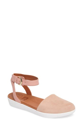 Women's Fitflop Cova Ankle Strap Sandal, Size 7 M - Pink