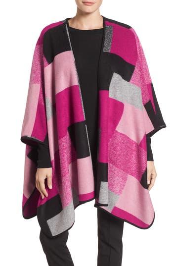 Women's Chaus Geometric Wool-Blend Poncho