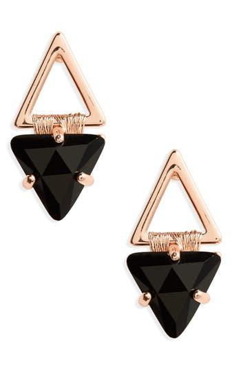 Women's Rebecca Minkoff Thread Wrap Geo Stud Earrings
