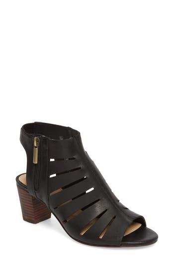 Women's Clarks Deloria Ivy Sandal, Size 6.5 M - Black