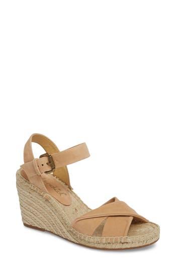 Women's Splendid Fairfax Espadrille Wedge Sandal, Size 5.5 M - Beige