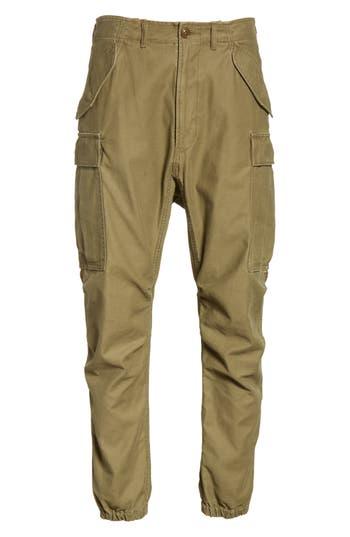 R13 Surplus Military Cargo Pants, Green