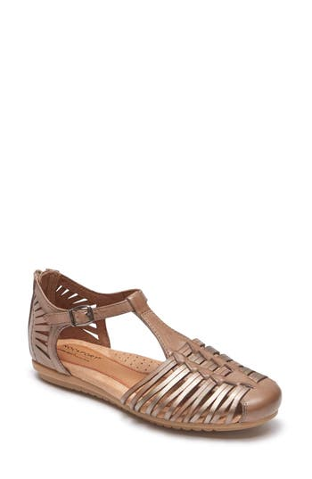 Women's Rockport Cobb Hill Inglewood Huarache Sandal, Size 6 M - Beige
