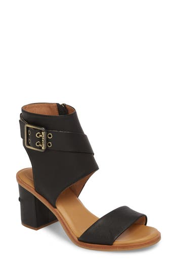 Women's Ugg Claudette Cuff Sandal, Size 10 M - Black