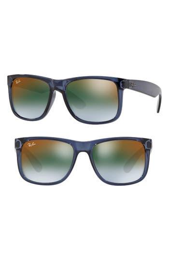 Ray-Ban Justin 5m Sunglasses - Transparent Blue