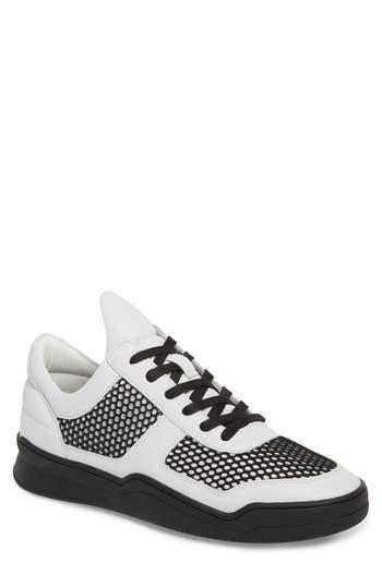 Karl Lagerfeld Paris Low-Top Sneaker- Black