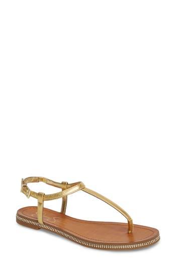 Jessica Simpson Brimah Sandal, Metallic