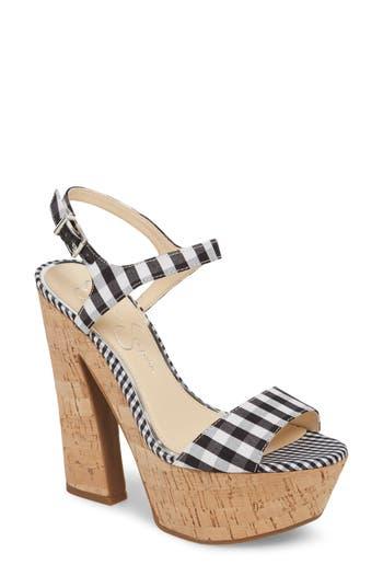Jessica Simpson Divella Platform Sandal, Black