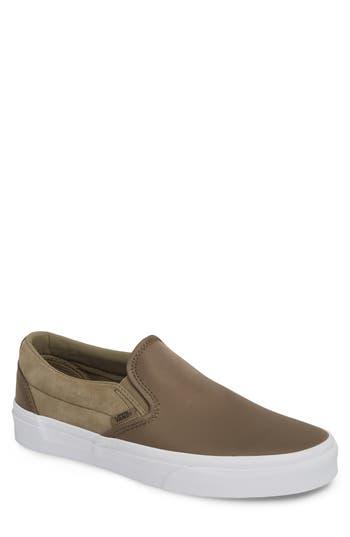 1dbbf30c90 Vans Surplus Nylon Slip-On Sneaker In Dusky Green