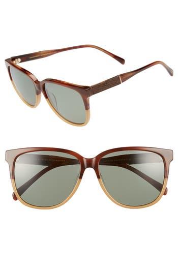 Shwood Mckenzie 5m Polarized Sunglasses - Toffee/ Green