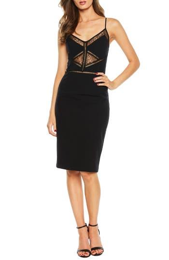 Bardot Jayne Lace Inset Cocktail Dress