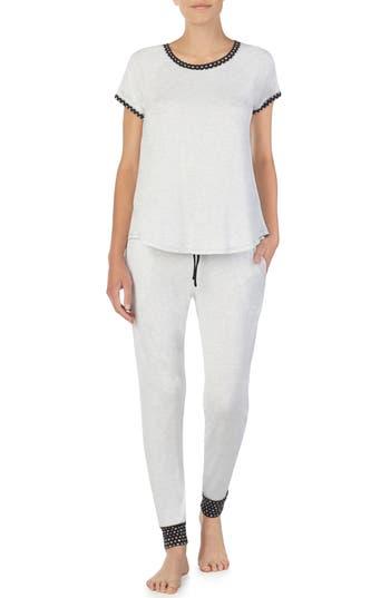 Room Service Jersey Pajamas, Grey