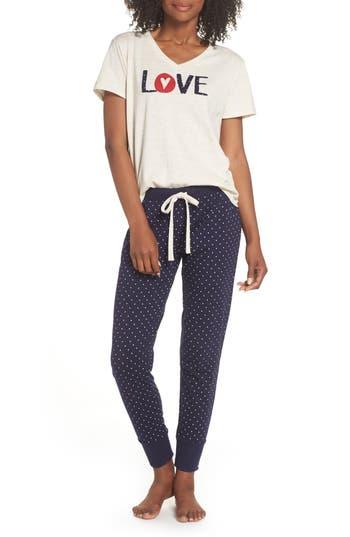 Ellen Degeneres Love Pajamas, Blue